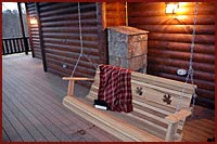 All images copyright Chestnut Ridge Cabins